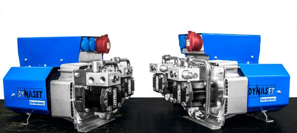 New silent hydraulic motors integrated in DYNASET HG Hydraulic Generators